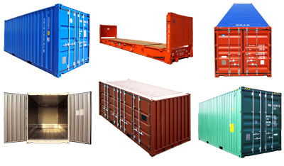 Shipping Containers Types