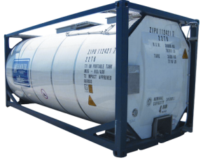 Tanks container