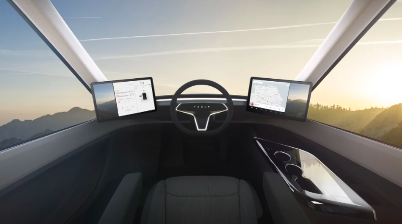 Tesla Semi-truck Captain's Chair