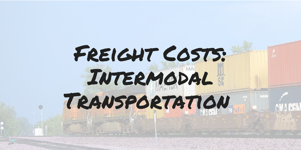 Shippers Turn to Intermodal Transportation